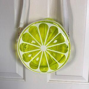 lemon lime translucent bag